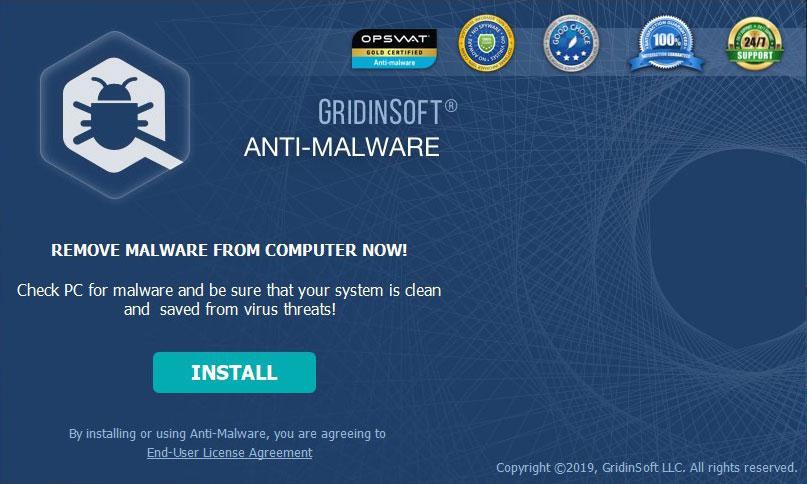 GridinSoft Anti-Malware Awards