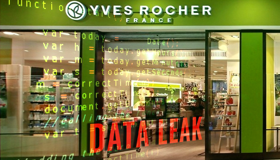 Data leak in Yves Rocher