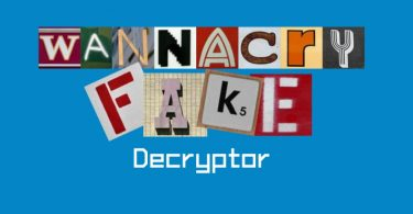 Download free WannaCryFake decryptor
