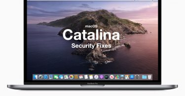 Fixed vulnerabilities in macOS Catalina